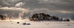 The End (Mika Laitinen) Tags: ocean sea sky cloud white snow seascape storm cold tree ice nature water skyline suomi finland landscape island bay frozen helsinki cabin frost cost balticsea steam shore scandinavia isle vuosaari uusimaa kallahti kallvik ef24105mmf4l canon7d