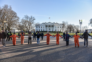 Witness Against Torture at the White House on January 11th, 2016
