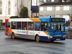34614 - Stagecoach Southwest Tavistock February 2016 (Dave Growns) Tags: uk southwest bus buses publictransport tavistock 87 stagecoach lowfloor 34614 dennisdart berealston plaxtonpointer dennisdartslf stagecoachsouthwest nk04nre dennisdartplaxtonpointer2 southwestbuses dennisdartplaxtonpointerslf tavistockbusstation
