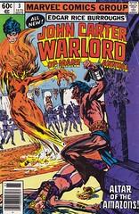 John Carter, Warlord of Mars / Annual 3 (micky the pixel) Tags: comics fire comic fantasy scifi demon marvel edgarriceburroughs johncarter heft amazone dämon tonydezuniga warlordofmars alanweiss amazonsofmars