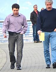(ManontheStreet2day) Tags: male guy businessman belt hunk crotch business jeans bluejeans stud