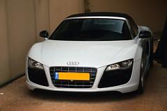 R8 V10 Spyder (Roi Shapira) Tags: cars israel spyder audi v10 r8