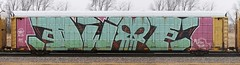 Dwot (quiet-silence) Tags: railroad art train graffiti ant railcar graff freight autorack wholecar fr8 allnation dwot ttgx603880