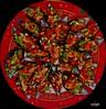 mejillones a la vinagreta (rabapo) Tags: comer mejillones vinagreta rabapo