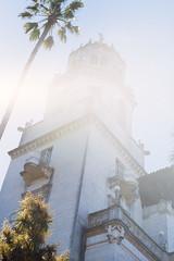 Hearst Castle (Colton Davie) Tags: california film june 35mm iso100 kodak slide roadtrip lensflare hearstcastle reversal elitechrome100 2013 canoneoselan7