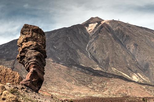 El Teide from Los Roques