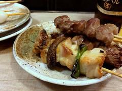 Yakitori (chicken skewers) from Ise @ Kanda (Fuyuhiko) Tags: from chicken tokyo  kanda yakitori ise skewers