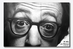 Woody Allen par Halsman dans le mtro (Gongashan) Tags: paris mtro halsman