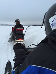 Finland - February 2016. (darrenboyj) Tags: winter snow cold finland lapland activity snowmobile snowmobiling