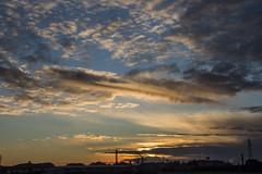 tramonto (mirkopizzaballa) Tags: sun nikon tramonto colore cielo sole azzurro paesaggio campi nubi nikond7200