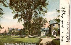 Smith College, Northampton, Massachusetts (profkaren) Tags: smithcollege postcard photopostcard robbins trenton newjersey northampton massachusetts 1906