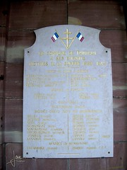 Vosges France - Taintrux (glanerbrug.info) Tags: 2005 monument wwii frankrijk lorraine vosges lotharingen secondeguerremondiale tweedewereldoorlog oorlog19401945 francelorrainevosges