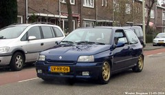 Renault Clio Williams 1995 (XBXG) Tags: auto old france holland classic haarlem netherlands car sport french automobile williams outdoor nederland clio voiture renault vehicle 1995 autoracing 20 paysbas ancienne 16v franaise renaultclio lvhr06
