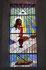 "Merida: l'eucharistie (dans l'église Santa Lucia) <a style=""margin-left:10px; font-size:0.8em;"" href=""http://www.flickr.com/photos/127723101@N04/25314225954/"" target=""_blank"">@flickr</a>"