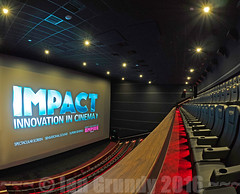 Empire Impact 1869 (stagedoor) Tags: uk england copyright cinema building london architecture teatro kino theater theatre balcony olympus cine impact empire leicestersquare inside seating stalls em1 greaterlondon unick