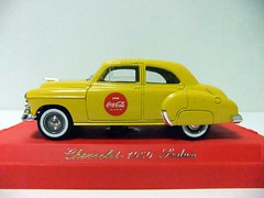 "CHEVROLET SEDAN ""COCA-COLA"" (1950) - SOLIDO (RMJ68) Tags: cars chevrolet sedan toy gm general cola motors chevy coca 1950 coches juguete 143 solido diecast"