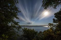 moonlit (eb78) Tags: longexposure nightphotography minnesota fullmoon mn bluemoon tenmilelake