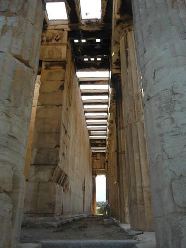 "Ágora Antigua, Atenas <a style=""margin-left:10px; font-size:0.8em;"" href=""http://www.flickr.com/photos/141744890@N04/25724959393/"" target=""_blank"">@flickr</a>"