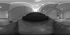 selections from the collections (severalsnakes) Tags: art museum architecture stairs contemporary interior rail 360 missouri ricoh spherical degrees theta sedalia daum thetas daummuseum theta360 saraspaedy