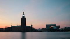 Stockholm City Hall and Congress Hall (jameslosey) Tags: longexposure sunset stockholm cityhall stadshuset congresshall visitsweden visitstockholm