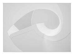 Whiteout (Panasonikon) Tags: panasonikon summilux1517 abstract weis treppe minimalismus bw sw panasonic dmcgx7