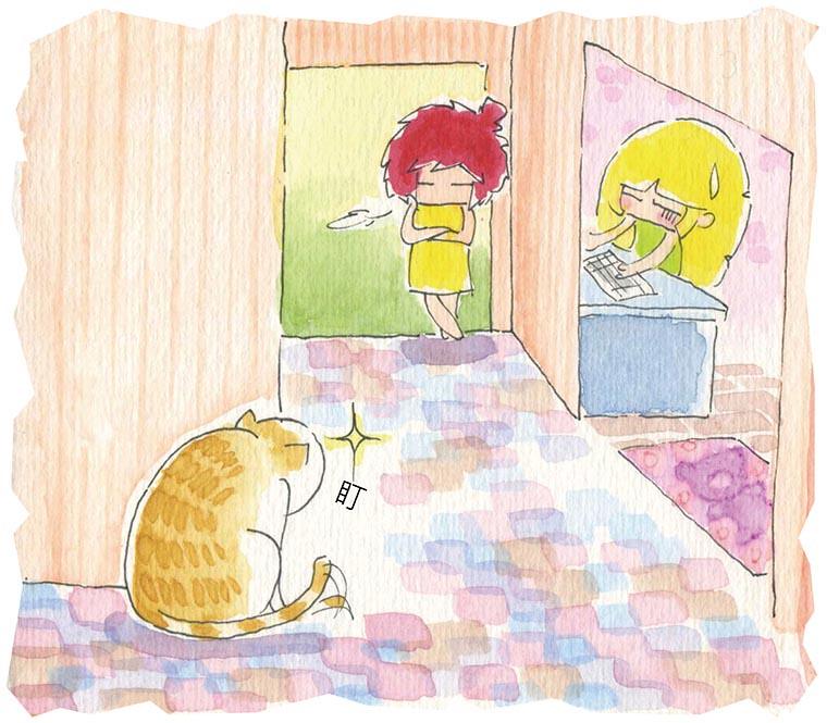 家裡來了一隻貓 監視阿法
