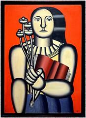 Fernand Lger, Femme avec un livre, 1923, huile sur toile (Barbara DALMAZZO-TEMPEL) Tags: nyc manhattan moma museumofmodernart 1923 oiloncanvas fernandlger huilesurtoile womanwithabook femmeavecunlivre