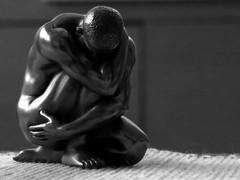 home (gerben more) Tags: man home statue nude blackwhite