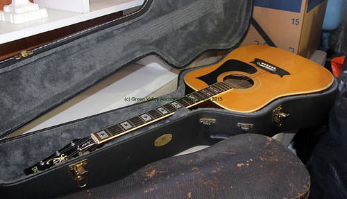 Guitar w/ Case - $231.00 (Sold August 28, 2015)