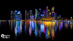 Singapore Skyline... Dissolved