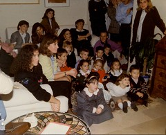 Compleanno di Flavia - 31 ottobre 1989 (cepatri55) Tags: zoe carla 1989 manuela flavia compleanno filippo ugolini
