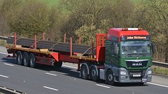 NX15 HXA (panmanstan) Tags: man truck wagon motorway m18 yorkshire transport lorry commercial vehicle heavy langham haulage tgx