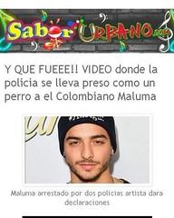 Y QUE FUEEE!! VIDEO donde la policia se lleva preso como un perro a el Colombiano Maluma AQUI: http://bit.ly/1MFP9a6 (saborurbano1) Tags: como se la video y el que perro un policia donde colombiano aqui preso lleva maluma fueee httpwwwsaborurbanocom201604yquefueeevideodondelapoliciasehtml