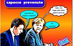 Essere 'de coccio' a Roma non vuol dire essere intelligenti. (SatiraItalia) Tags: humor vignette cartoons satira