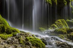 Le rideau d'eau (Philis.Nat) Tags: st canon pose eau rivire 400 nd cascade chute fort filtre pons longue gmenos eos7d