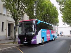 Mercedes Tourismo Ouibus (1/2) (ChristopherSNCF56) Tags: bus car de mercedes gare nantes sud sncf tourismo 6 ouibus