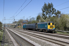 20142 passes Cathiron working 5Z21 1206 Washwood Heath Metro Cammel - Wolverton 20/4/2016 (Paul-Green) Tags: uk sun west english electric canon one 1 coast flickr afternoon diesel rugby mark main transport stock group engine rail sunny loco move class line ii 7d gb type april vehicle mk2 barrier locomotive 20 railways midlands rog nuneaton 2016 20205 6340 wcml 20142 5z21 cathiron operaitions