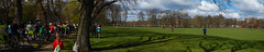 Pedal on Meadows 2016 (beqi) Tags: panorama bike bicycle edinburgh meadows photoshoppery 2016 cycleactivism pedalonparliament pop2016