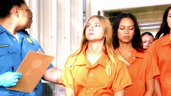 h50503_01754 (UJB88) Tags: county orange women uniform prison jail facility jumpsuit correctional restrained