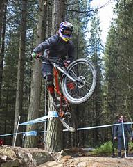02 MTB SCDH 16 Apr 2016 (15) (Kate Mate 111) Tags: uk mountain bike forest cycling crash sheffield yorkshire steve competition racing downhill peat riding mtb mountainbiking grenoside