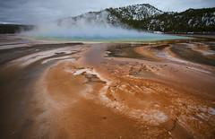 Grand Prismatic Spring (Kim Tashjian) Tags: yellowstonenationalpark wyoming grandprismaticspring