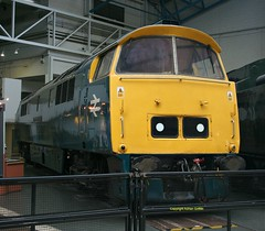 D1023 at NRM York April 2016 (Ado Griff) Tags: maybach dieselhydraulic class52 d1023 nationalrailwaymuseumyork westernfusilier brtype4