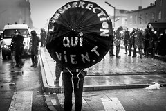 L'insurrection qui vient (Solylock) Tags: blackandwhite bw mars students monochrome hat saint square march photo place noiretblanc rally streetphotography banksy nb travail chapeau monochrom toulouse coming rue rpublique qui whom contre tudiants manifestation insurrection loi cyprien crs jeunes mutiny lycens 2016 photoderue medef gendarmes manifestants youngers vient matabiau rforme loitravail elkhomry khomryvallshollande