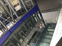 Lift bank at Heathrow Terminal 5 (Matt From London) Tags: airport heathrow elevators terminal5 lifts