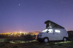 Sous l'oeil de Jupiter/Under the eye of Jupiter (Chris Llers) Tags: vw nightscape jupiter mont paysages t4 vaucluse ventoux nocturnes