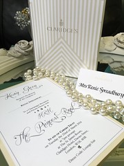 Invitations fit for royalty. Perfect Day Weddings is is proud to have designed and handmade this stunning A5 bespoke invitation in aid of Carers Trust for a private dinner with HRH The Princess Royal at Claridges in London.  See more at www.perfectday-wed (Perfect Day Weddings) Tags: uk wedding london beautiful vintage sussex evening handmade unique royal marriage ascot surrey best pearls retro invitation card windsor ribbon weddings elegant mayfair stationery berkshire invite wimbledon luxury hrh middlesex invites invitations weddinginvitations berks chiswick twickenham esher luxurious greatgatsby bespoke customised personalised teddington custommade tailormade theprincessroyal diamant handmadeweddinginvitation luxuryweddinginvitation bespokeweddinginvitation weddinginvitationlondon londonweddinginvitation thecarerstrust