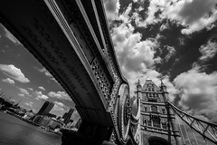between the elements (Blende1.8) Tags: bridge sky white black london monochrome thames clouds towerbridge river mono nikon cityscape perspective himmel wolken sigma wideangle monochrom brcke fluss 1224mm perspektive themse weitwinkel d610 schwarzweis stadtlandschaft sigma1224mmhsmii carstenheyer
