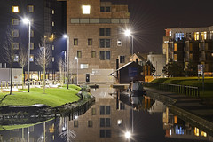 The Wharf, Walsall 10/01/2016 (Gary S. Crutchley) Tags: street uk travel england urban black west heritage history night dark ed evening town canal nikon long exposure raw slow nightscape shot nightshot image time britain cut lock centre united country great bcn kingdom junction wharf shutter and after local nightphoto nikkor scape townscape inland staffordshire navigation westmidlands 28300mm narrowboat vr waterway afs walsall midlands d800 the blackcountry staffs nightimage f3556g nightphotograph essington wyrley canalscape walsallweb walsallflickr