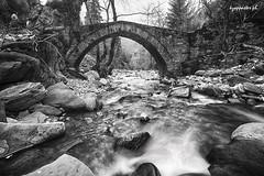 Pyrra (kzappaster) Tags: stonebridge sony sonya7 bridge a7 mirrorless compactsystemcamera vivitar vivitar19mmf38 19mmf38 19mm bw longexposure pyrra aspropotamos trikala thessaly greece ruby5