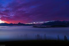 Nebel im Allgu (allgaeubilder) Tags: bayern nebel berge alpen sonnenaufgang morgen zell gebirge allgu eisenberg morgenstimmung suling ostallgu